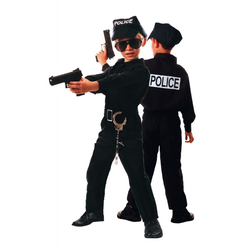 COSTUME POLICIER 4 A 6 ANS