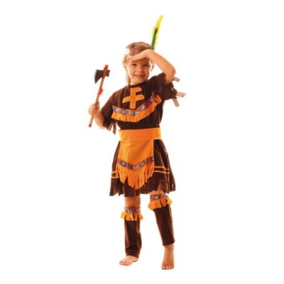 COSTUME APACHE FILLE 7 A 9 ANS