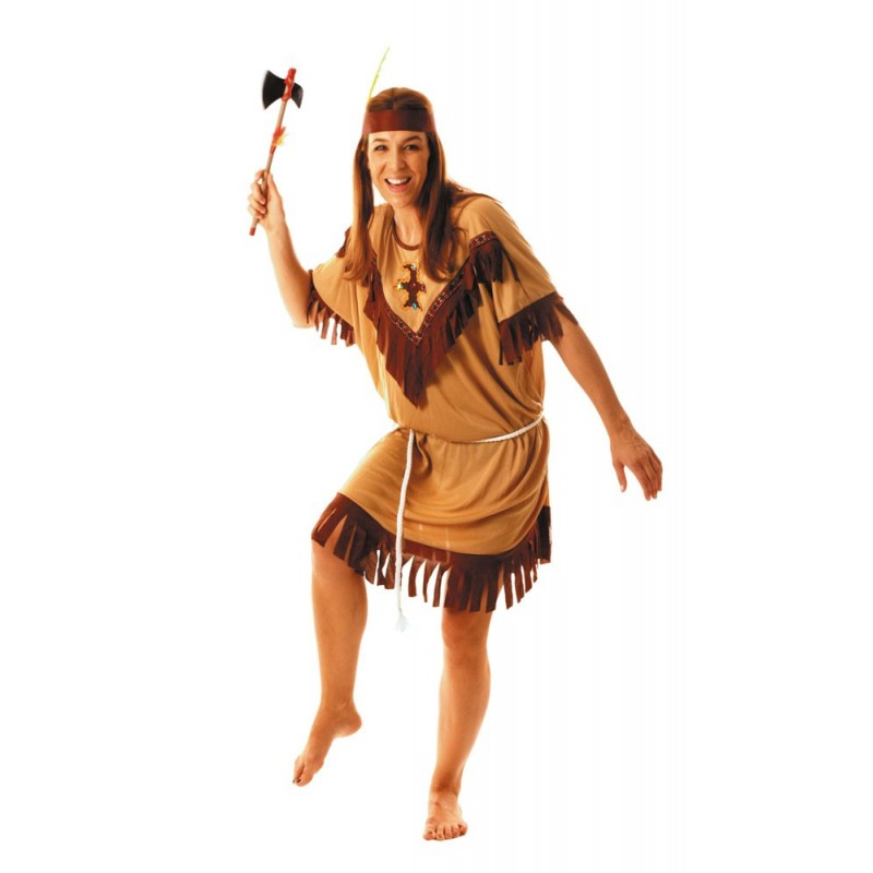 COSTUME INDIENNE APACHE