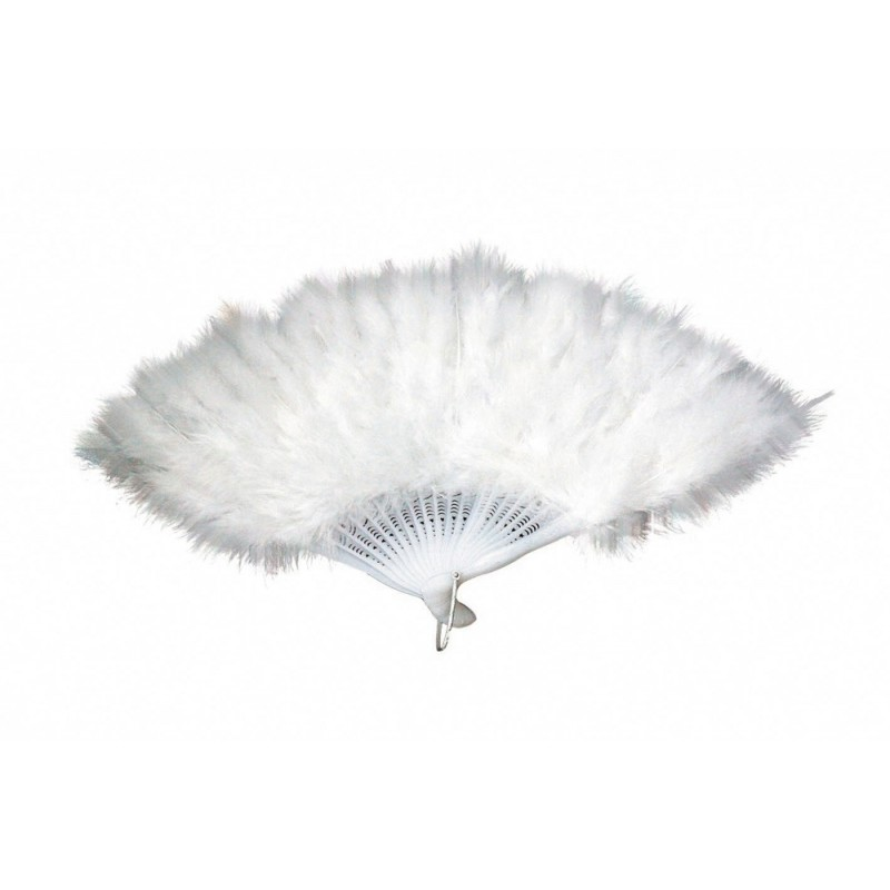 EVENTAIL PLUMES BLANC