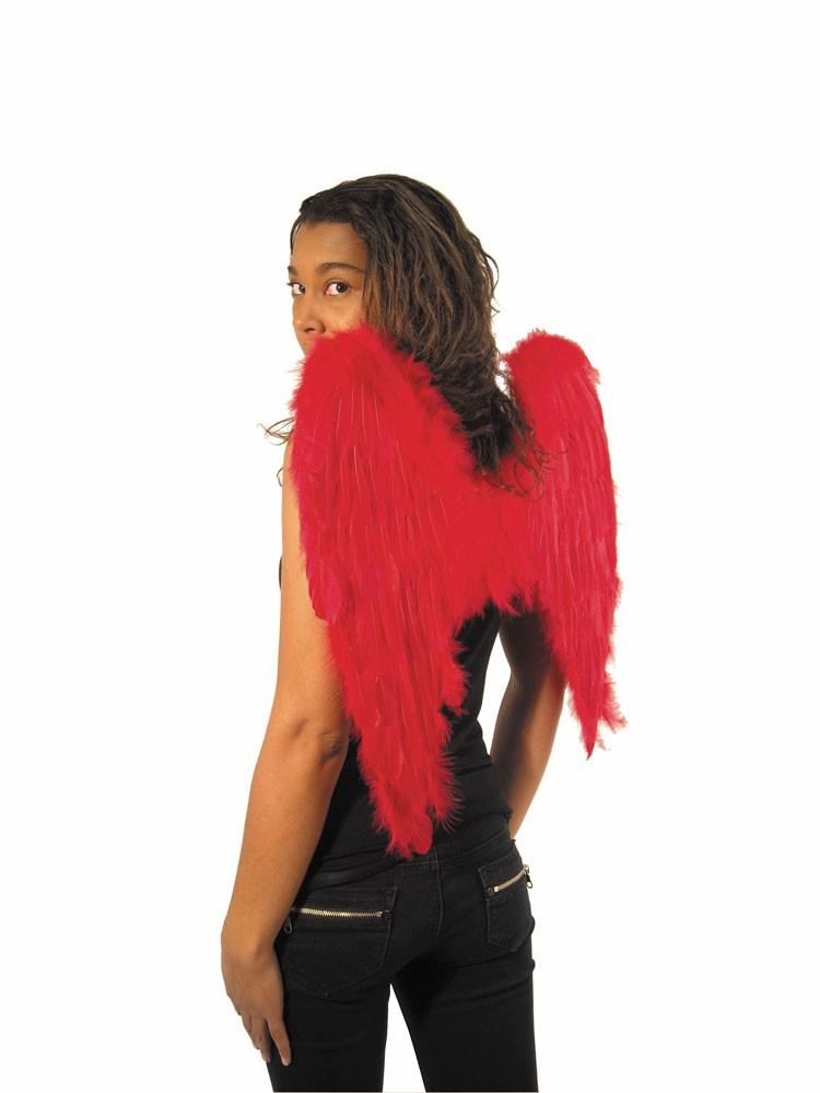 Ailes d'ange rouge 50 cm