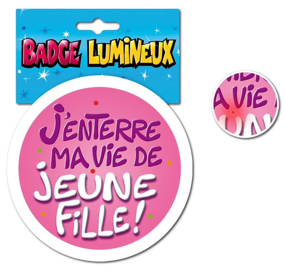 Badge lumineux EVJF