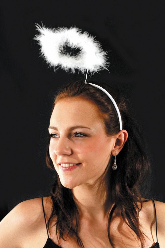 Auréole d'ange blanche