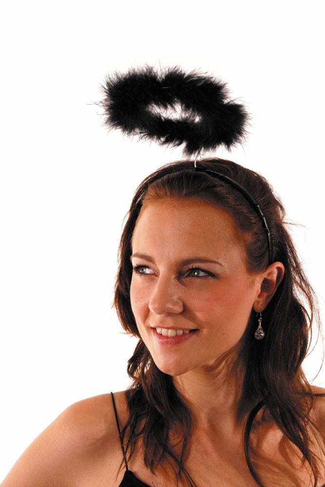Auréole d'ange noire